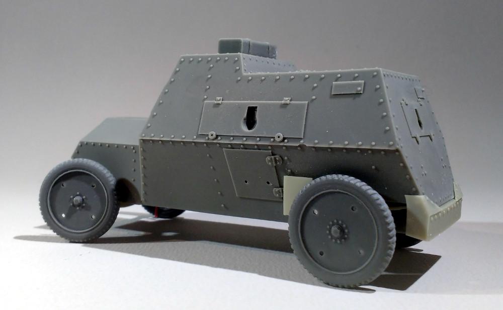 Automitrailleuse Russo Balt typeC 1914 au 1/35 (WW modelstudio) 18041207565723099315664621