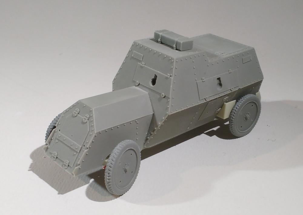 Automitrailleuse Russo Balt typeC 1914 au 1/35 (WW modelstudio) 18041207565823099315664622