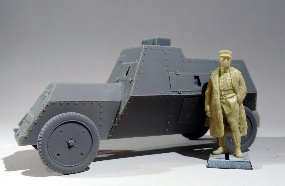 Automitrailleuse Russo Balt typeC 1914 au 1/35 (WW modelstudio) 18041207565923099315664623