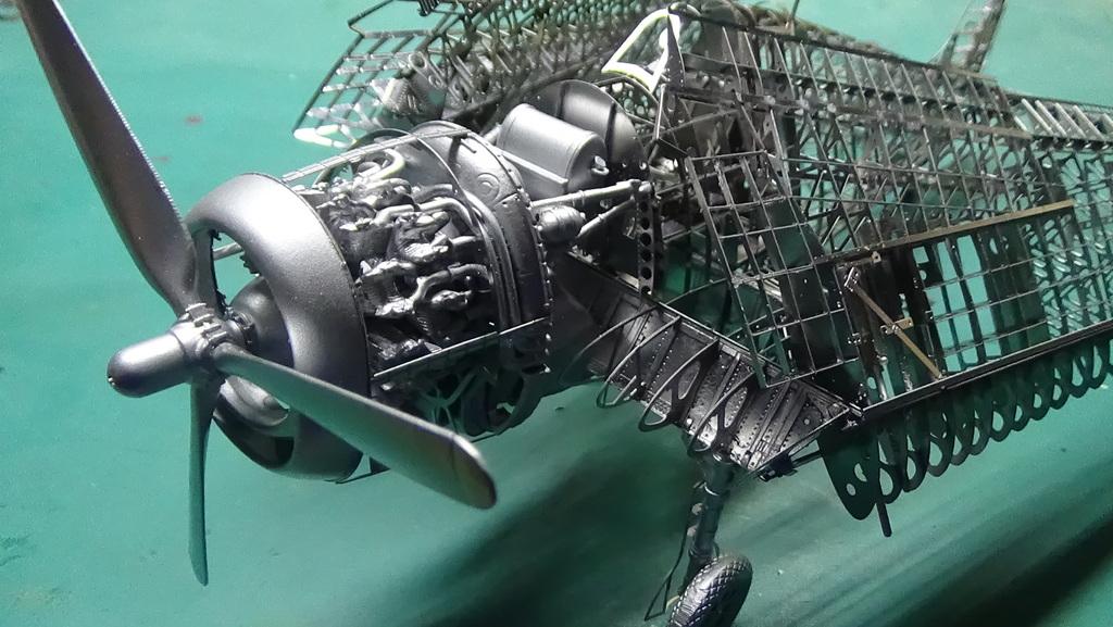 Grumman F6F-5 Hellcat 1/48e à poil ! TERMINE - Page 3 18041411484123134915668221
