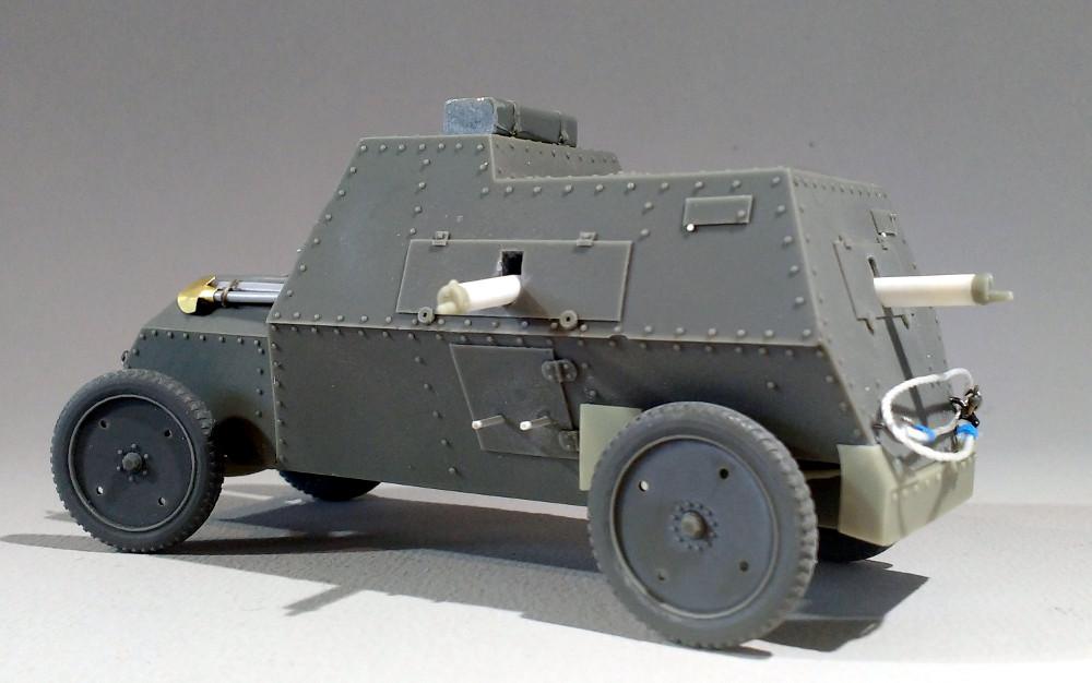 Automitrailleuse Russo Balt typeC 1914 au 1/35 (WW modelstudio) 18041607322923099315671548