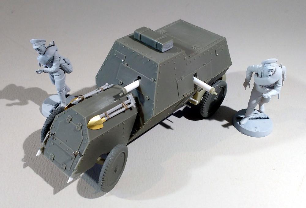 Automitrailleuse Russo Balt typeC 1914 au 1/35 (WW modelstudio) 18041607323223099315671550