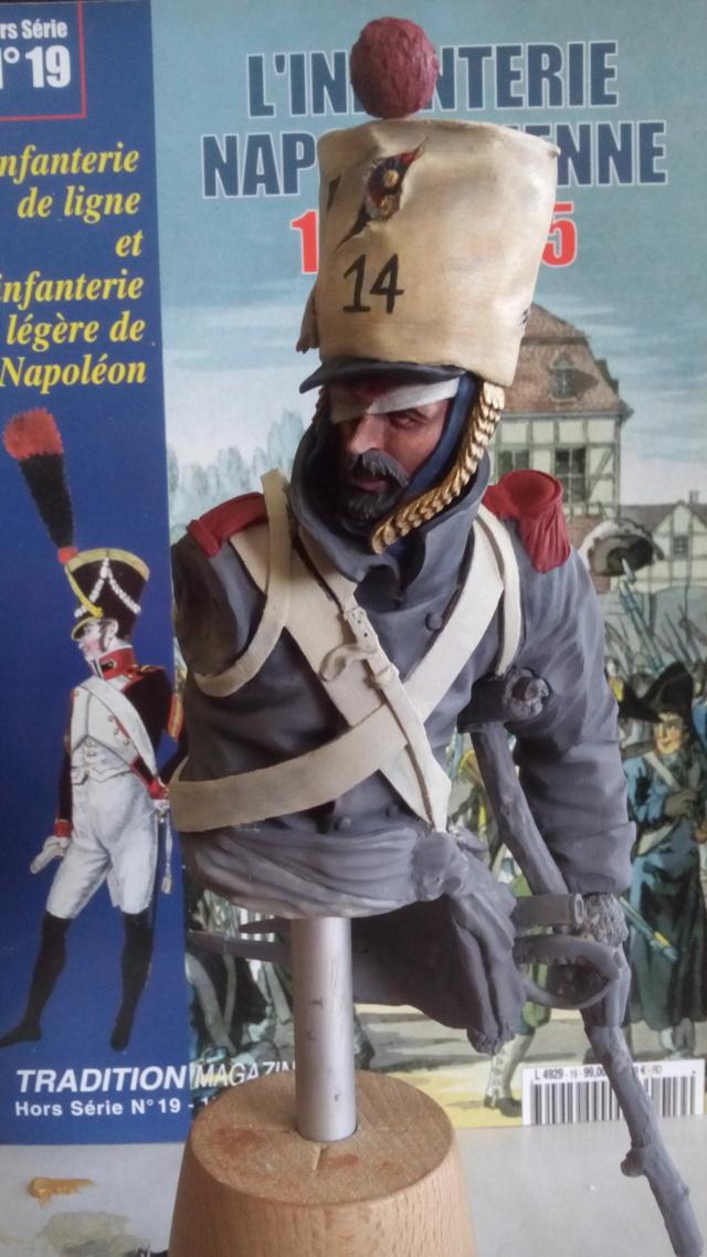 Debut à l'acrylique : buste de chez BonaparteMilitaryModels 18041806432523586315675424