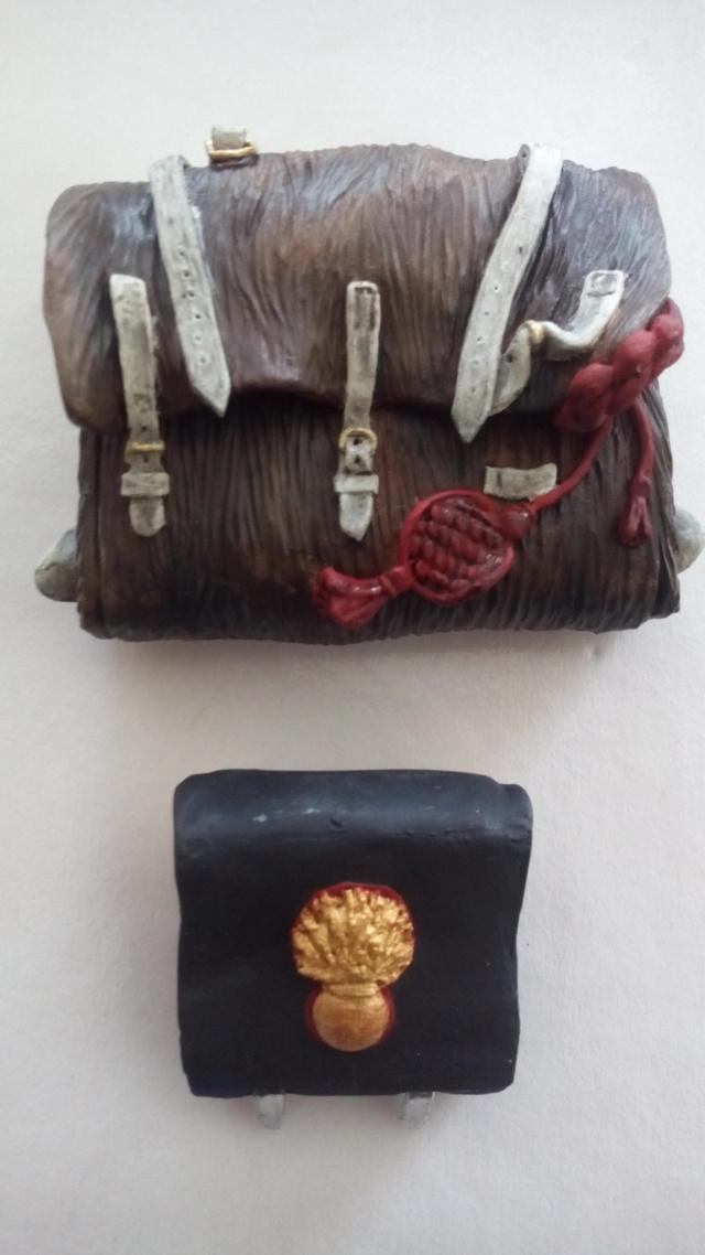Debut à l'acrylique : buste de chez BonaparteMilitaryModels 18041806440823586315675428