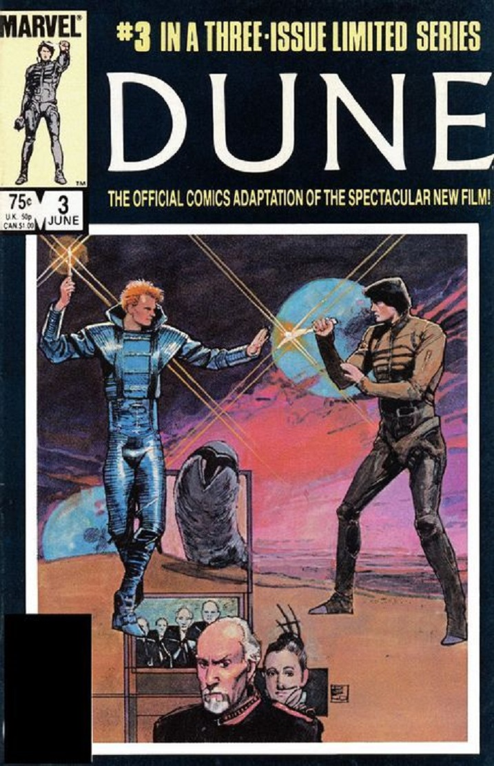 DUNE : THE OFFICIAL COMICS ADAPTATION dans BD 18042009504115263615677263
