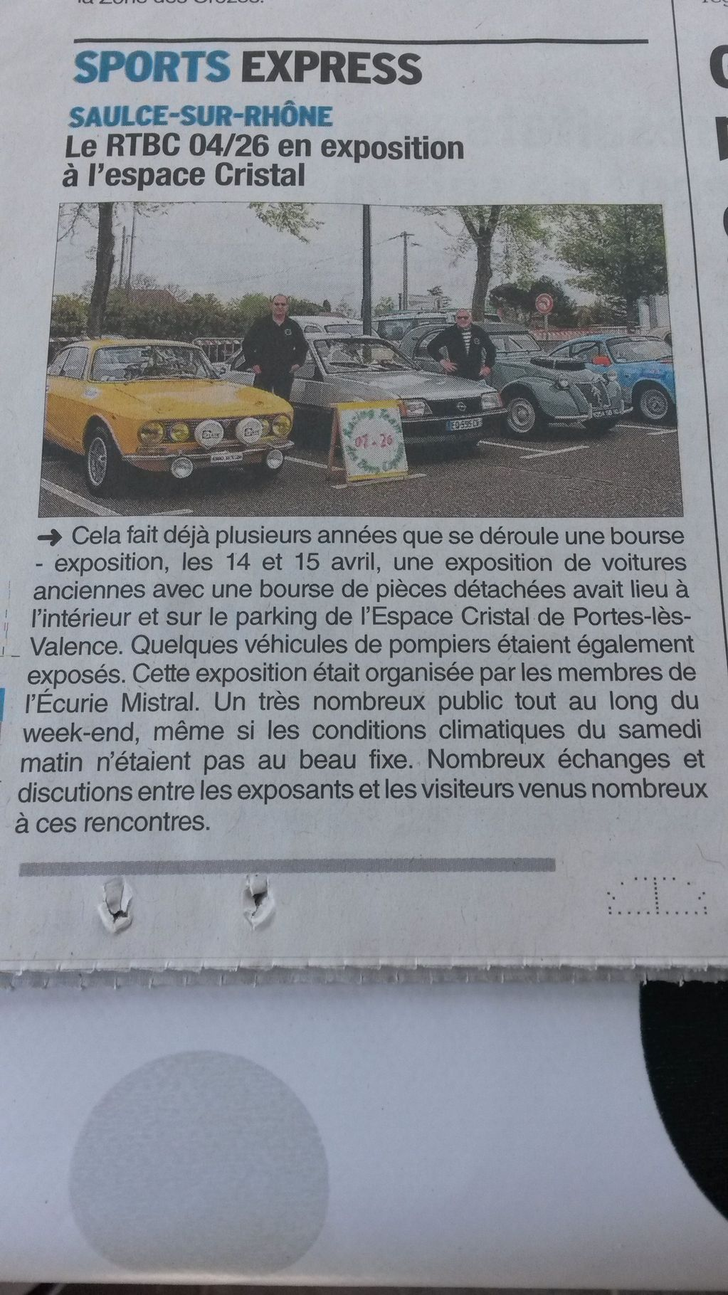 [26] 14 et 15/04/2018 - Bourse expo Espace Cristal de Portes - Page 3 18042406081023632315683837