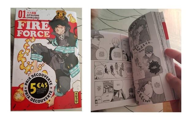 manga fireforce