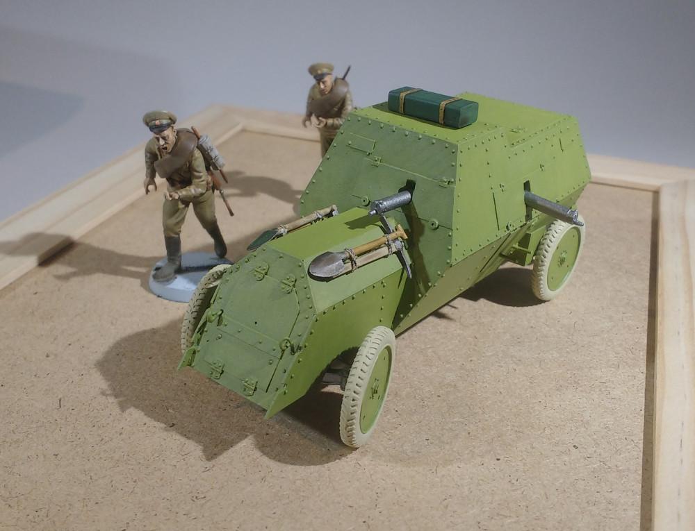 Automitrailleuse Russo Balt typeC 1914 au 1/35 (WW Modelstudio) - Page 2 18042908391523099315691408
