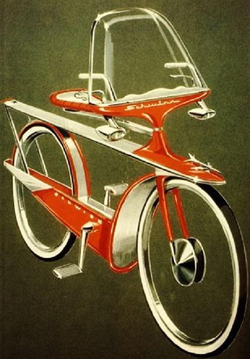 RÉTROFUTURISME - La bicyclette du futur dans Rétrofuturisme 18043008142615263615692031