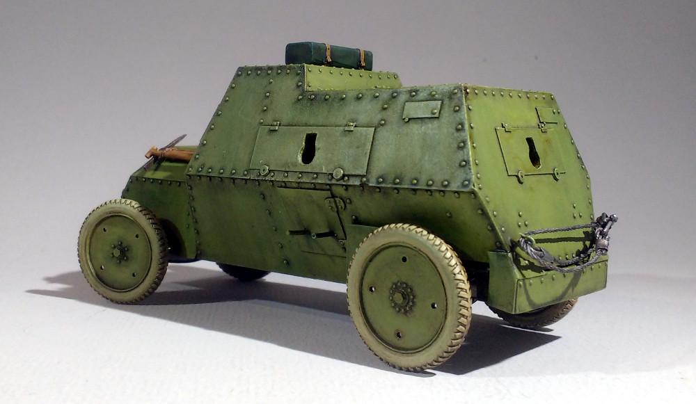 Automitrailleuse Russo Balt typeC 1914 au 1/35 (WW Modelstudio) - Page 2 18043009550723099315693398