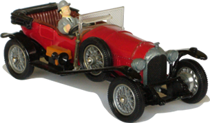 "Bentley 3 Litre ""The avengers"" Corgi-Toys"