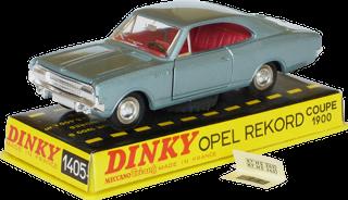Opel Rekord 1900 coupé Dinky-Toys