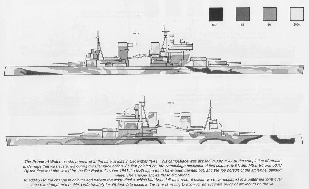 Prince of Wales 1/700 Flyhawk PE+ Pont en bois et Babioles  - Page 2 18051406001723134915712362