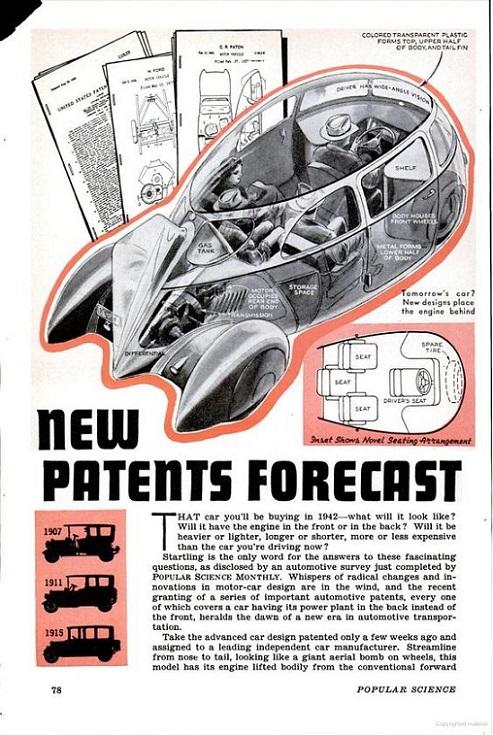 RÉTROFUTURISME - New Patents Forecast dans Rétrofuturisme 18051410404515263615711900