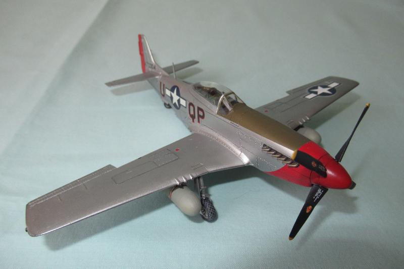 P-51D-25-NA 6 1/72ème - Tamiya 18051806044323822515718487