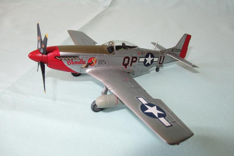 P-51D-25-NA 6 1/72ème - Tamiya 18051806044323822515718488