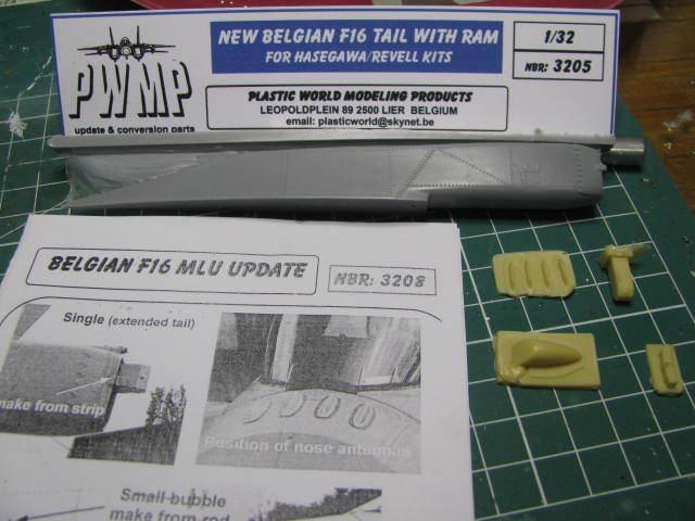 General Dynamic F-16A(MLU) FA-129 BAF Hasegawa 1/32  18052802253423669015733493