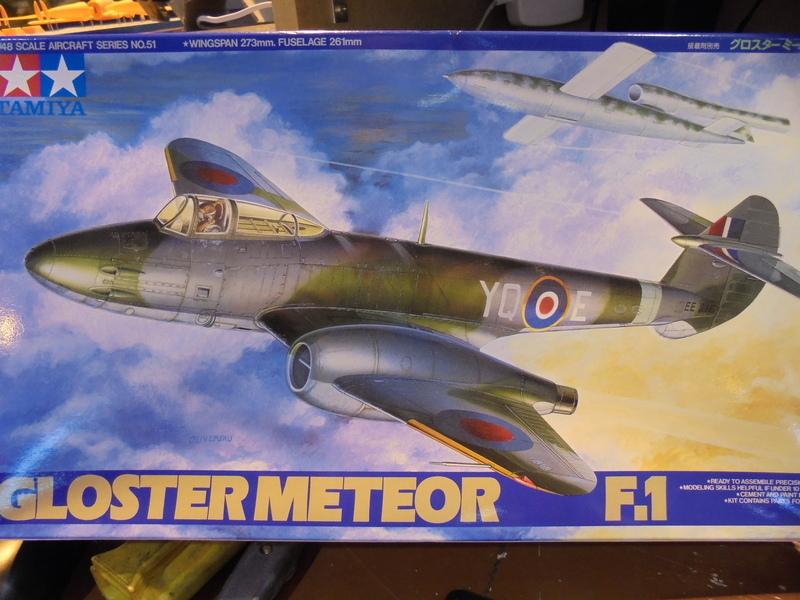 Gloster Meteor F-1 Tamiya 1/48 18052802501523669015733524
