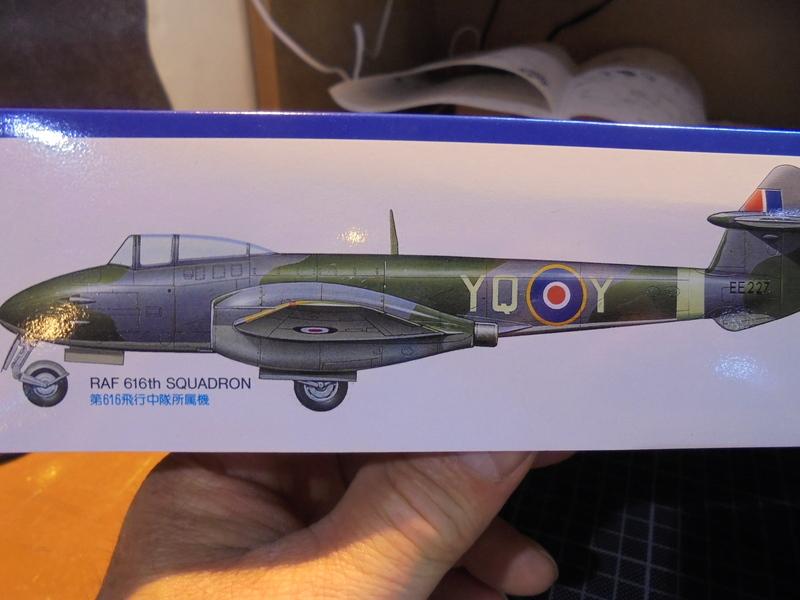 Gloster Meteor F-1 Tamiya 1/48 18052802501823669015733526