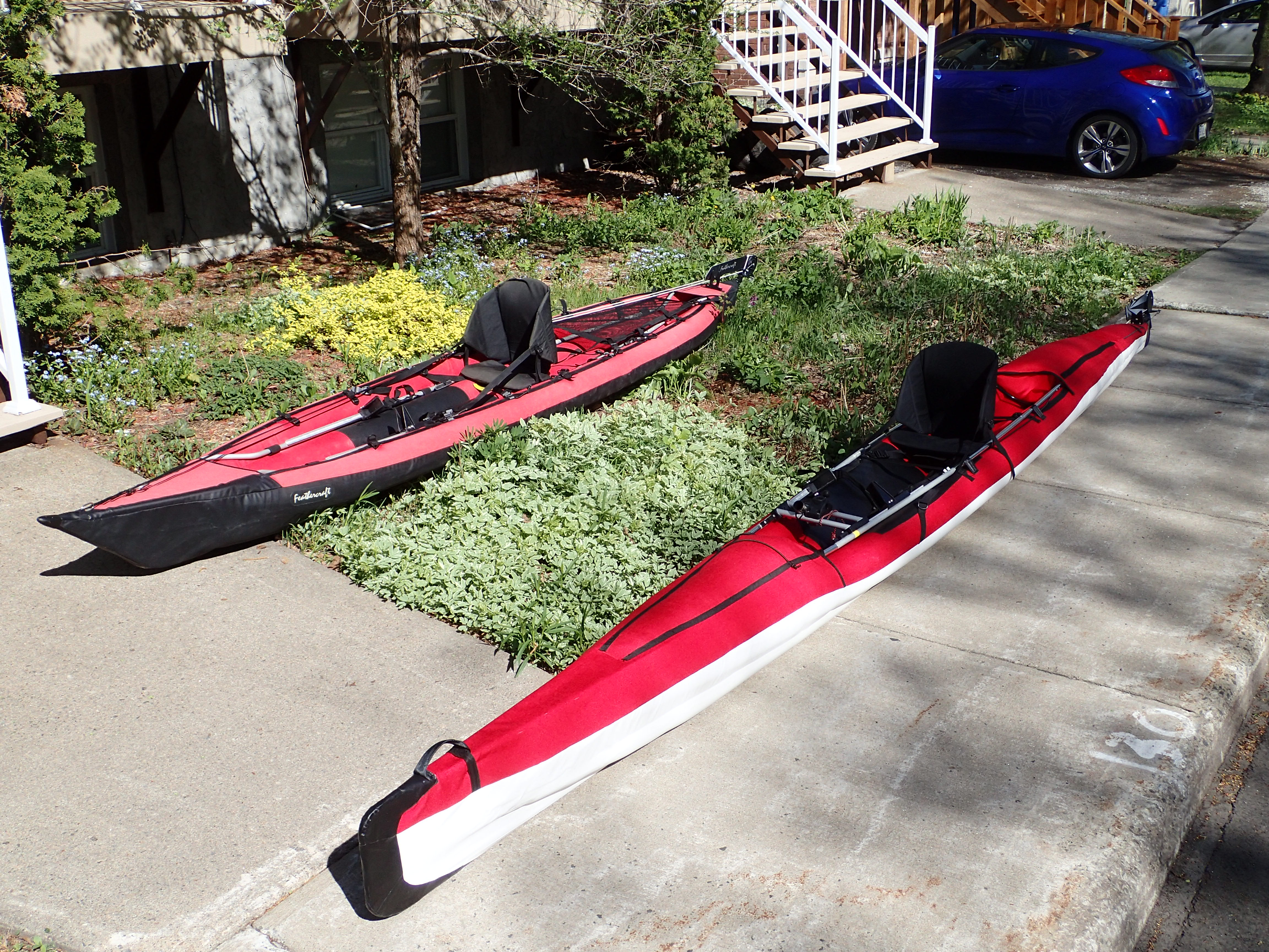 Folding Kayaks Forum • View topic - Completed inflatable surfski