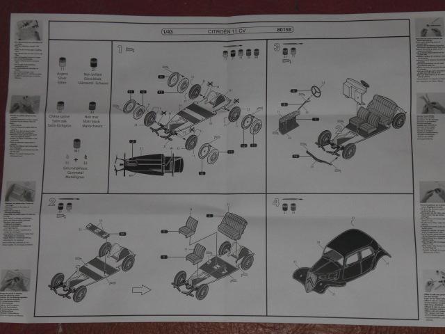 [1/43] Citroën 11 CV réf 80159 18060212054523569815741838