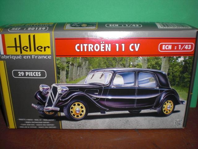 [1/43] Citroën 11 CV réf 80159 18060212054523569815741839