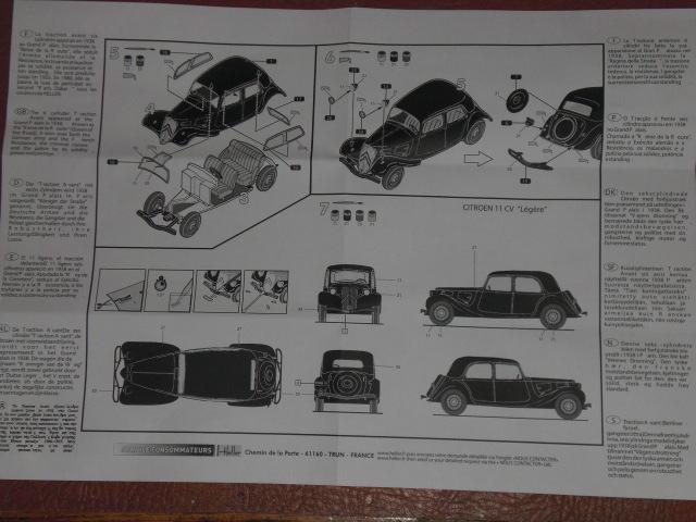 [1/43] Citroën 11 CV réf 80159 18060212054923569815741841