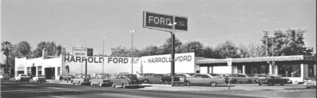 Harrold Ford, Sacramento, CA B&W-2