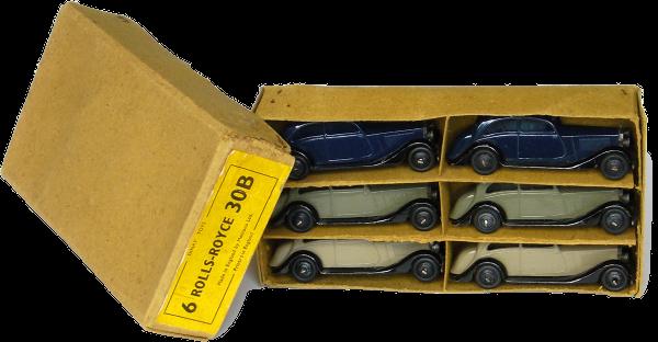 Boite détaillant Rolls-Royce 30b Dinky-Toys dealer box