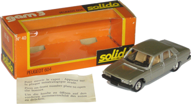 Peugeot 604 Solido