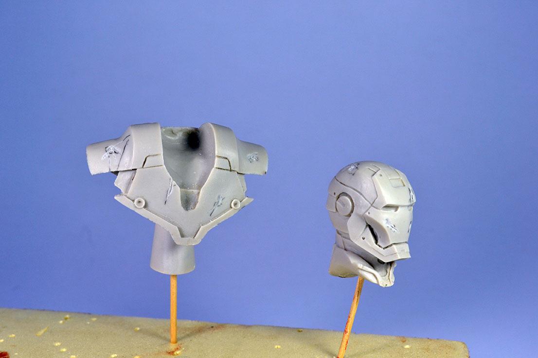 Figurines  MARVEL (différentes marques) 18060810191822494215753153