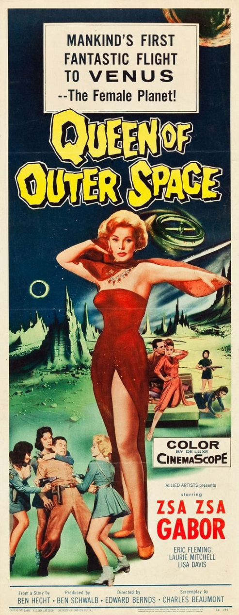 POSTEROÏDE - Queen of Outer Space dans Cineteek 18061212433715263615759340