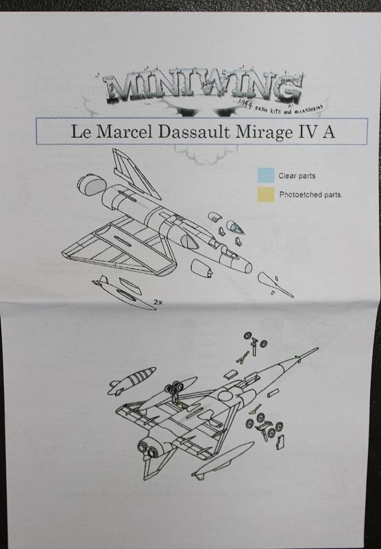 Mirage IV A Miniwings 1/144 1806190501105669815768763