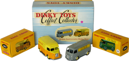 Coffret 75ème anniversaire Dinky-Toys Atlas