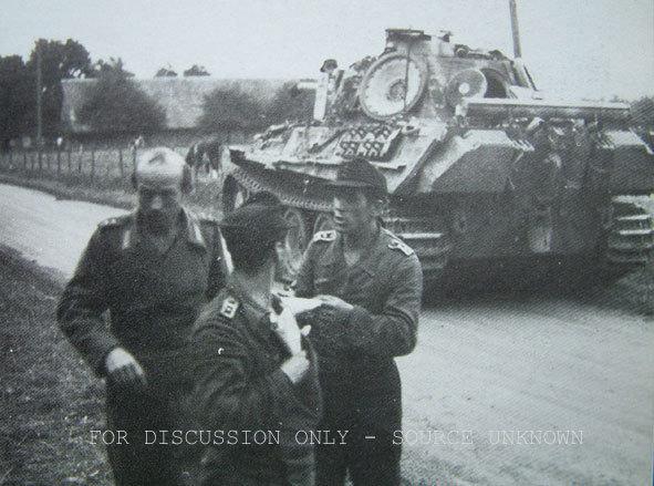 Terminé Panther G 24 Panzer Divsion Normandie 18062910455024138115785285