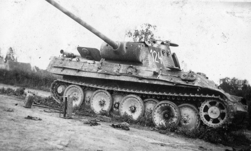 Terminé Panther G 24 Panzer Divsion Normandie 18062910455424138115785287