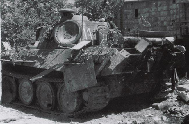 Terminé Panther G 24 Panzer Divsion Normandie 18062910455824138115785289
