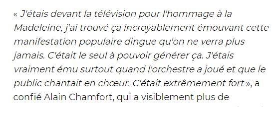 """Hervé Vilard : """"La Madeleine, le + grand acte politique de ces dernières années"""" 18063006402723491615785495"""