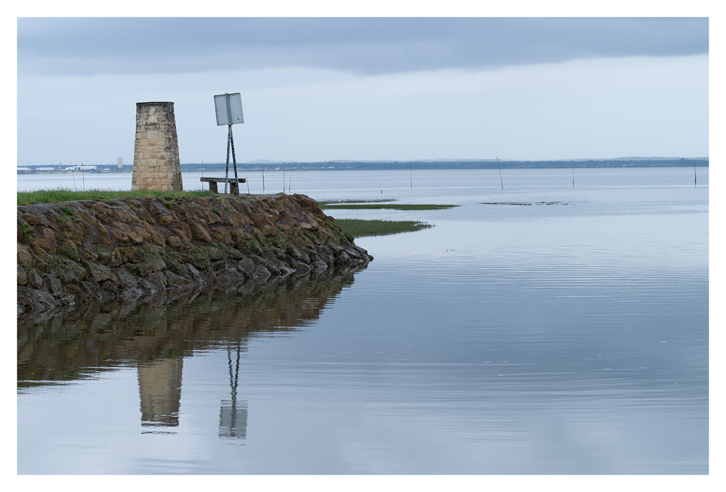 Port de Audenge (sous la pluie). 18070510425917005515794420