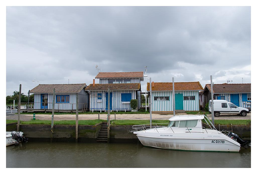 Port de Audenge (sous la pluie). 18070510430917005515794423