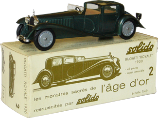 "Bugatti type 41 ""Royale"" Solido"