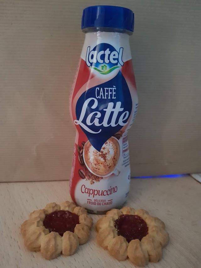 caffe latte cappuccino lactel