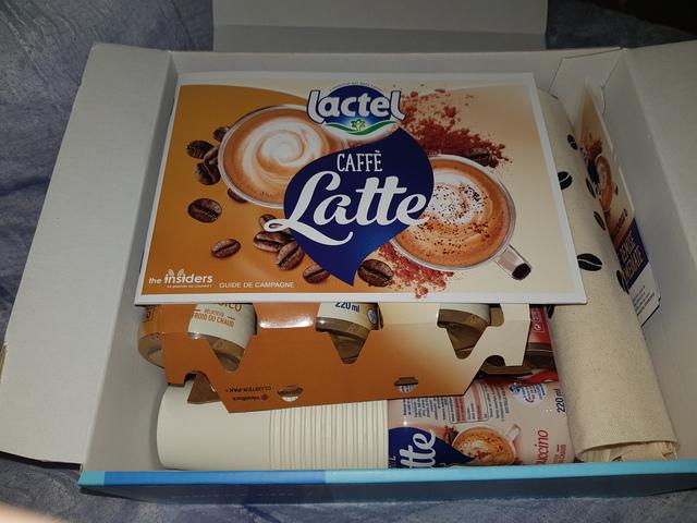 box caffe latte de lactel