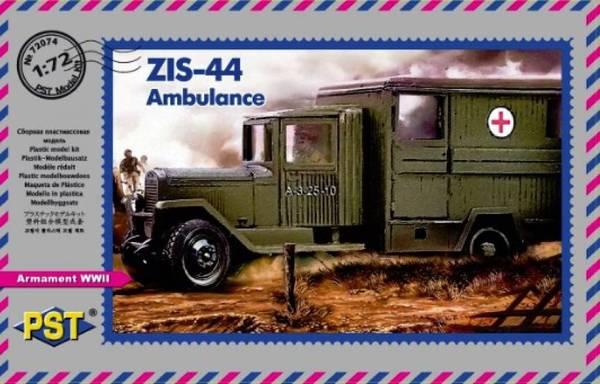 ZiS-44 PST (Zebrano) - Ne tirez pas sur l'ambulance! - Terminé! 1807220822002060015818516