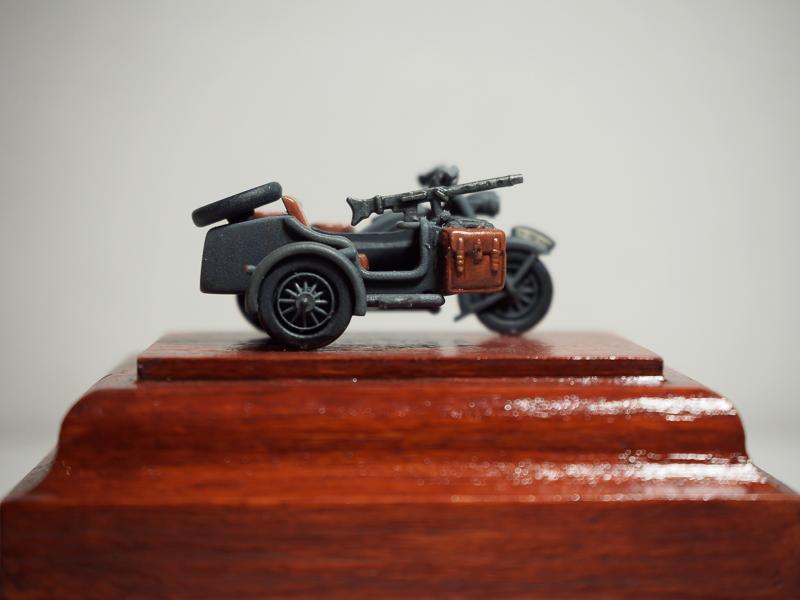 B.M.W. R75 Side Car / German Bodyguard Unit [Hasegawa, 1/72] 18072302323424220515819277