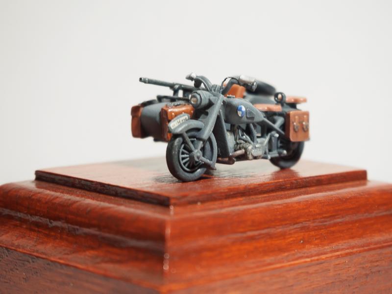 B.M.W. R75 Side Car / German Bodyguard Unit [Hasegawa, 1/72] 18072302324124220515819279