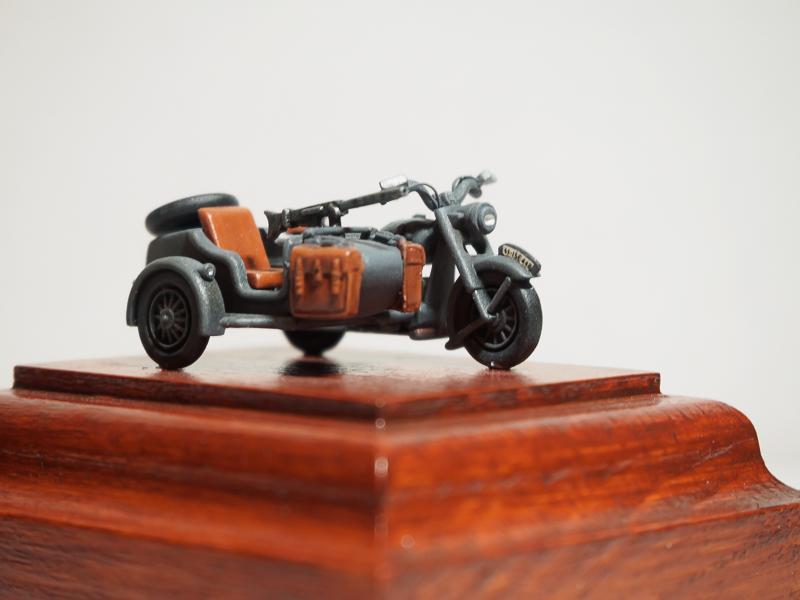 B.M.W. R75 Side Car / German Bodyguard Unit [Hasegawa, 1/72] 18072302324224220515819280