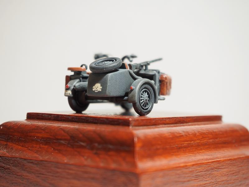 B.M.W. R75 Side Car / German Bodyguard Unit [Hasegawa, 1/72] 18072302324524220515819281