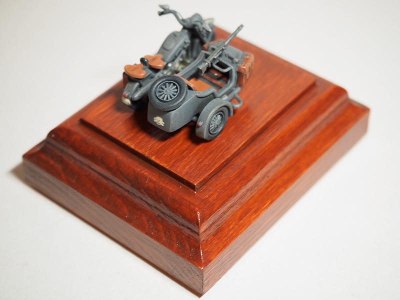 B.M.W. R75 Side Car / German Bodyguard Unit [Hasegawa, 1/72] 18072302324624220515819282