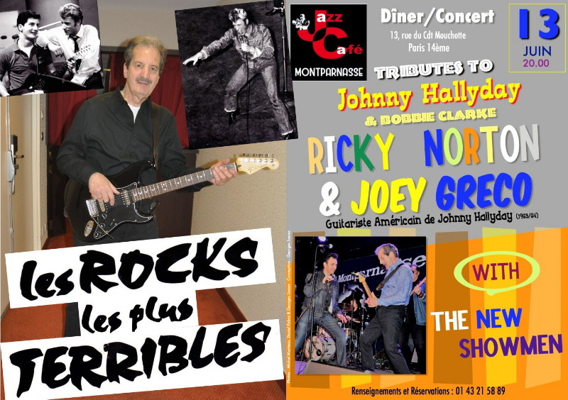 JOEY GRECO & RICKY NORTON 13/06/2018 Jazz Café Montparnasse (Paris). 18072305524023491615819531